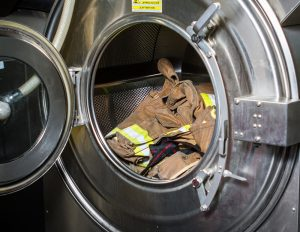 firefighter gear extractor cleaning